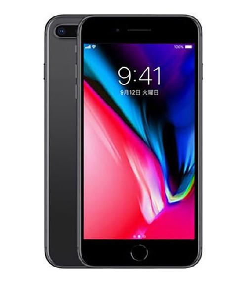 【中古】【安心保証】 SoftBank iPhone8Plus[256GB] スペースグレイ