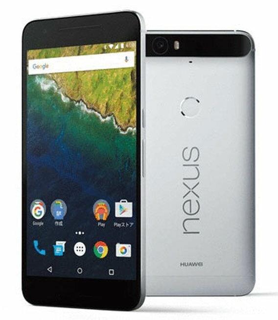 【中古】【安心保証】 SIMフリー Nexus6P[32GB] アルミニウム