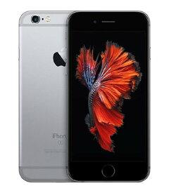 【中古】【安心保証】 UQモバイル iPhone6s[32G] スペースグレイ