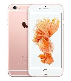 【中古】【安心保証】 UQモバイル iPhone6s[32G] ローズゴールド