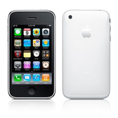 【中古】【安心保証】 SoftBank iPhone3GS[32GB] ホワイト