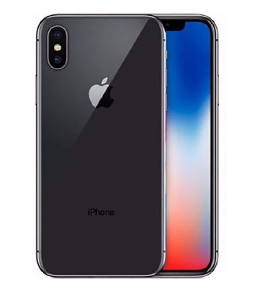 【中古】【安心保証】 docomo iPhoneX[64GB] スペースグレー