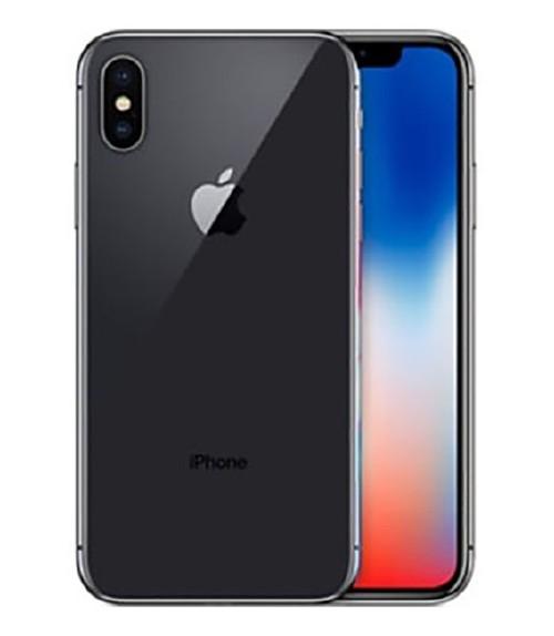 【中古】【安心保証】 docomo iPhoneX[256GB] スペースグレー