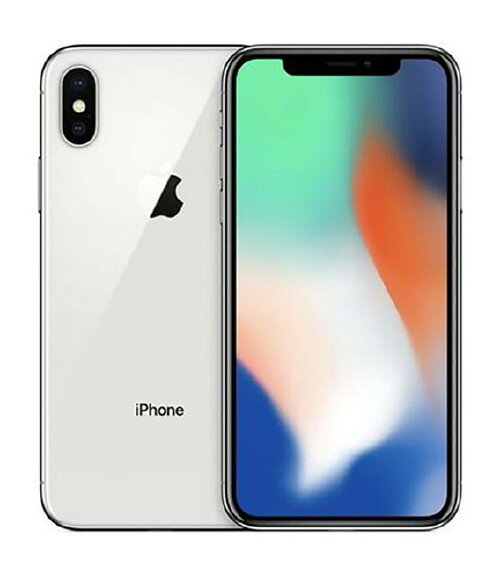 【中古】【安心保証】SoftBank iPhoneX[64G] シルバー