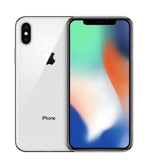 【中古】【安心保証】 SIMフリー iPhoneX[64GB] シルバー