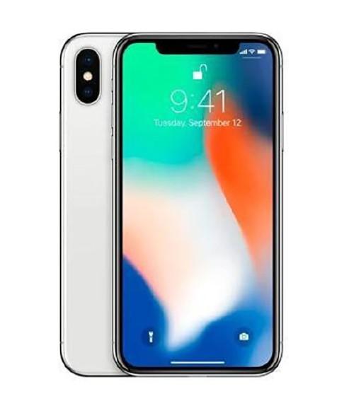 【中古】【安心保証】 SIMフリー iPhoneX[256GB] シルバー