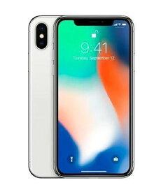 【中古】【安心保証】 docomo iPhoneX[256G] シルバー