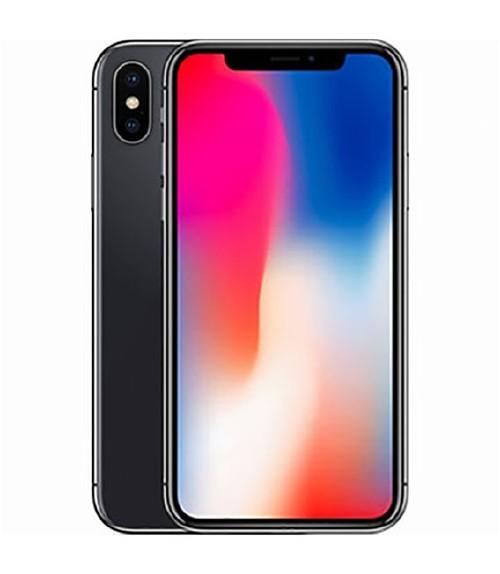 【中古】【安心保証】 au iPhoneX[64GB] スペースグレー
