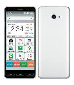 【中古】【安心保証】 Y!mobile A001KC シルバー