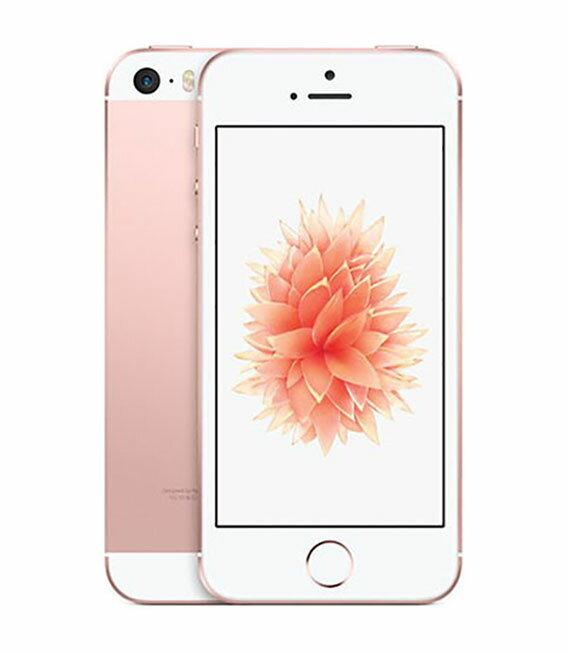 エントリーでP19倍以上!【中古】【安心保証】 SoftBank iPhoneSE[32GB] ローズゴールド