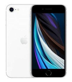 【中古】【安心保証】 UQモバイル iPhoneSE 2[64G] ホワイト