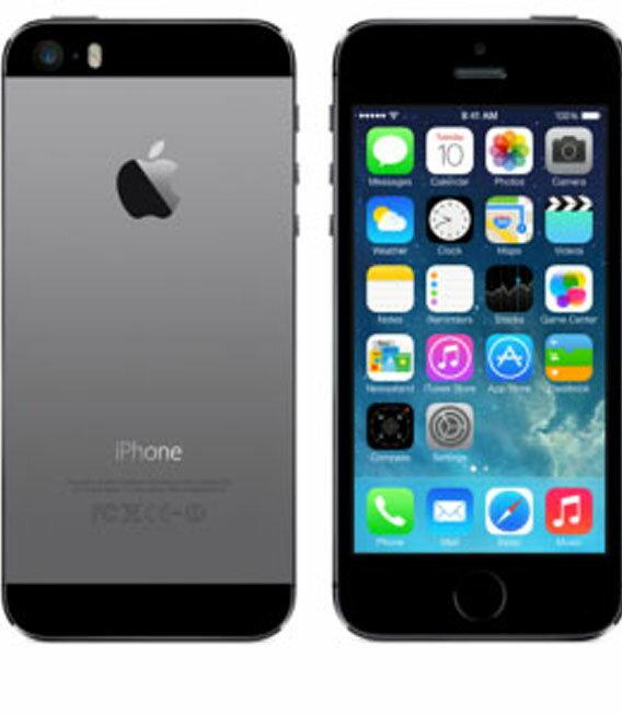 【中古】【安心保証】SoftBank iPhone5s[16G] スペースグレイ
