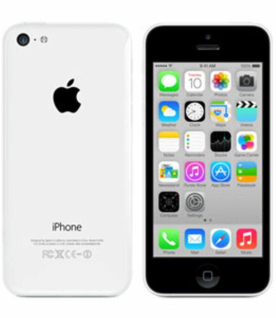 【中古】【安心保証】 SoftBank iPhone5c[16GB-s] ホワイト