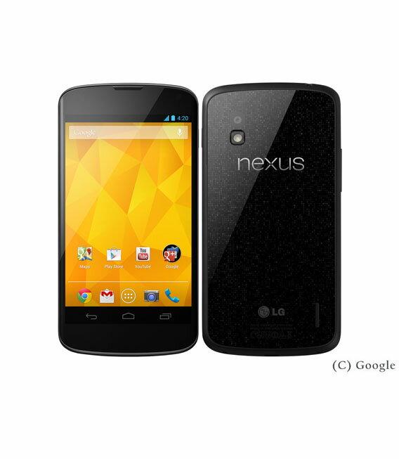 【中古】【安心保証】 SIMフリー Nexus4[16GB-ー] ブラック