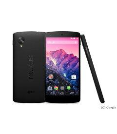 【中古】【安心保証】 SIMフリー Nexus5[32Gーー] ブラック