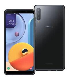 【中古】【安心保証】 SIMフリー Galaxy A7 ブラック