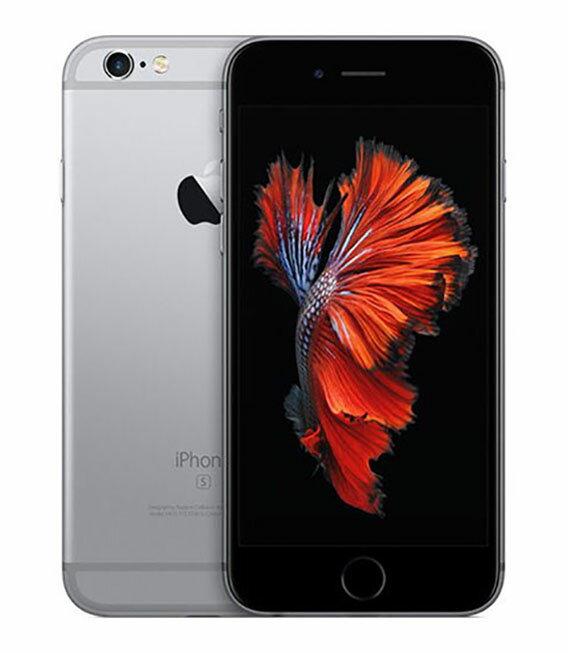 【中古】【安心保証】 docomo iPhone6s 64GB スペースグレイ SIMロック解除済