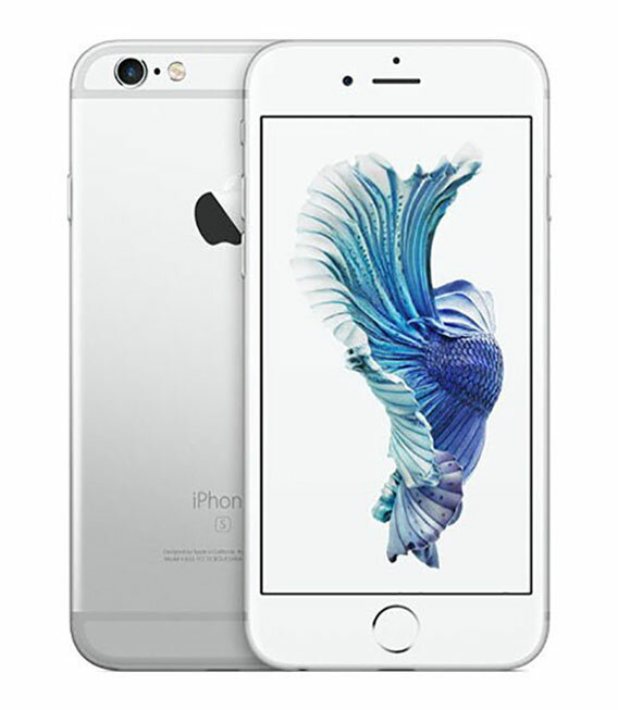 【中古】【安心保証】 docomo iPhone6s 64GB シルバー SIMロック解除済