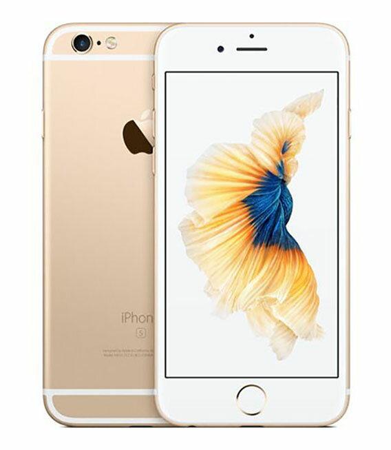 【中古】【安心保証】 docomo iPhone6s 16GB ゴールド SIMロック解除済