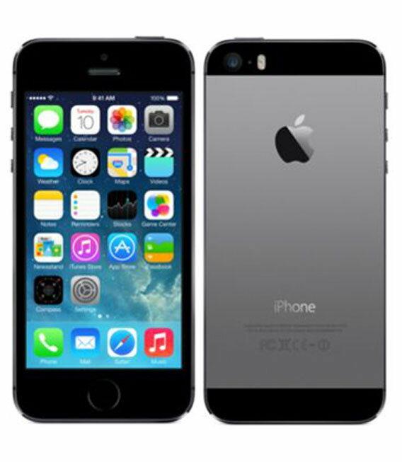 エントリーでP19倍以上!【中古】【安心保証】 SoftBank iPhone5s[64GB-s] スペースグレイ