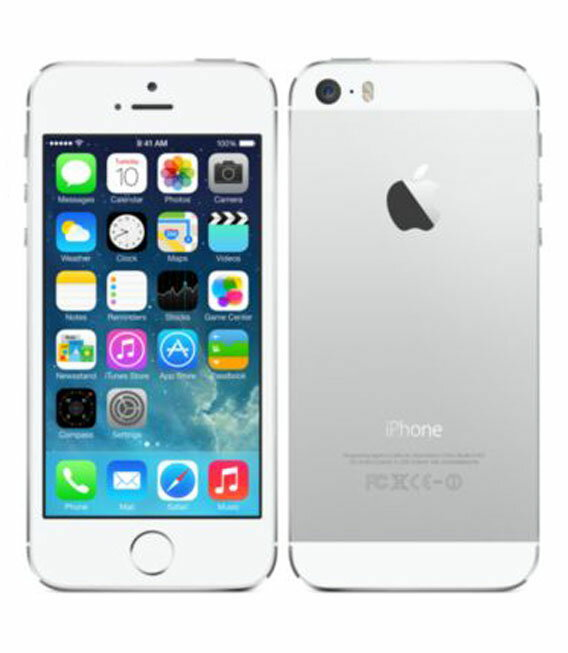 【中古】【安心保証】SoftBank iPhone5s[32G] シルバー