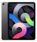 【中古】【安心保証】 au iPadAirー10.9 4[セルラー64G] グレイ