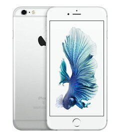 【中古】【安心保証】 docomo iPhone6sPlus[128G] シルバー SIMロック解除済