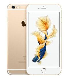 【中古】【安心保証】 SoftBank iPhone6sPlus[16G] ゴールド SIMロック解除済