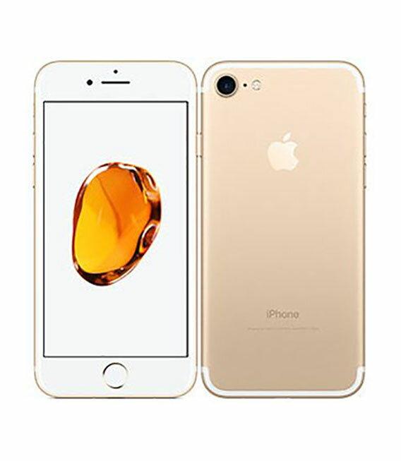 【中古】【安心保証】 docomo iPhone7 32GB ゴールド SIMロック解除済