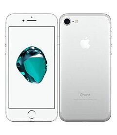 【中古】【安心保証】 docomo iPhone7[256G] シルバー SIMロック解除済