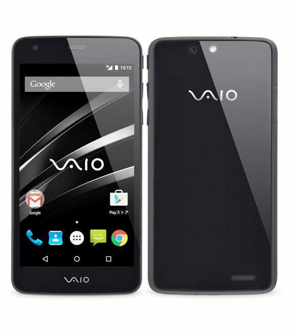 【中古】【安心保証】 SIMフリー VAIOPhone_VA-10J ブラック