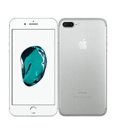 【中古】【安心保証】 docomo iPhone7Plus[256G] シルバー SIMロック解除済