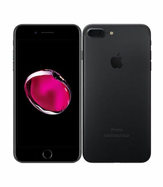 【中古】【安心保証】 docomo iPhone7Plus 128GB ブラック SIMロック解除済