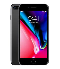【中古】【安心保証】 iPhone8Plus[256GB] SIMロック解除 docomo スペースグレイ