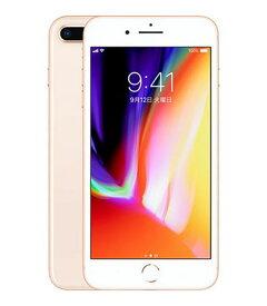 【中古】【安心保証】 iPhone8Plus[256GB] SIMロック解除 docomo ゴールド