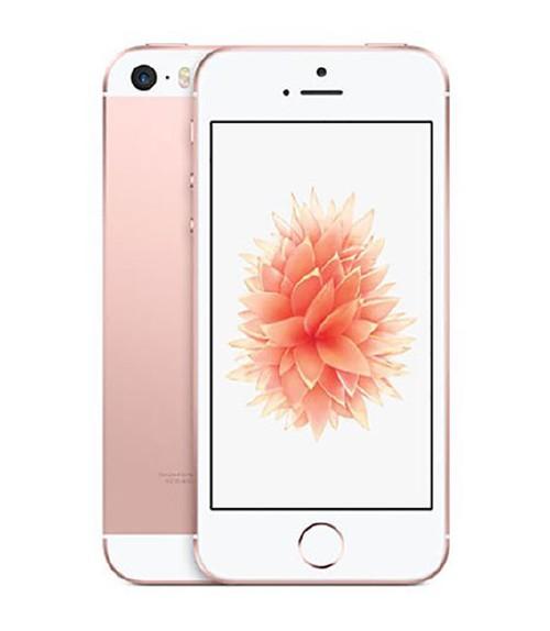 【中古】【安心保証】 au iPhoneSE[64GB] ローズゴールド