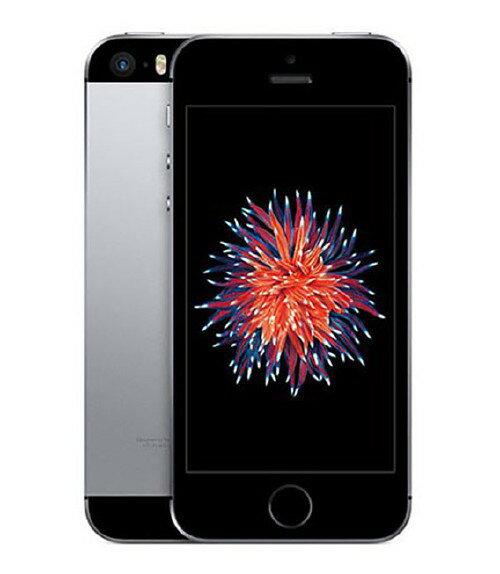 【中古】【安心保証】 au iPhoneSE[64GB] スペースグレイ