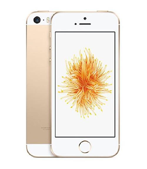 【中古】【安心保証】 au iPhoneSE[16GB] ゴールド