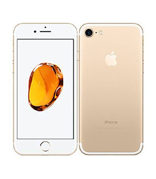 【中古】【安心保証】 au iPhone7[256GB] ゴールド