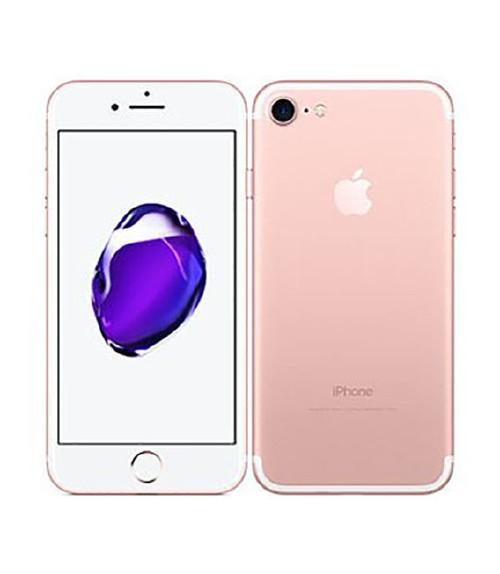 【中古】【安心保証】 au iPhone7[128GB] ローズゴールド