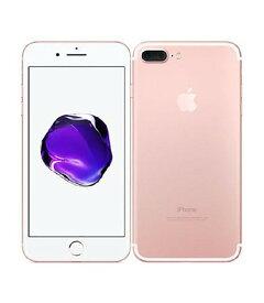 【中古】【安心保証】 au iPhone7Plus[128G] ローズゴールド