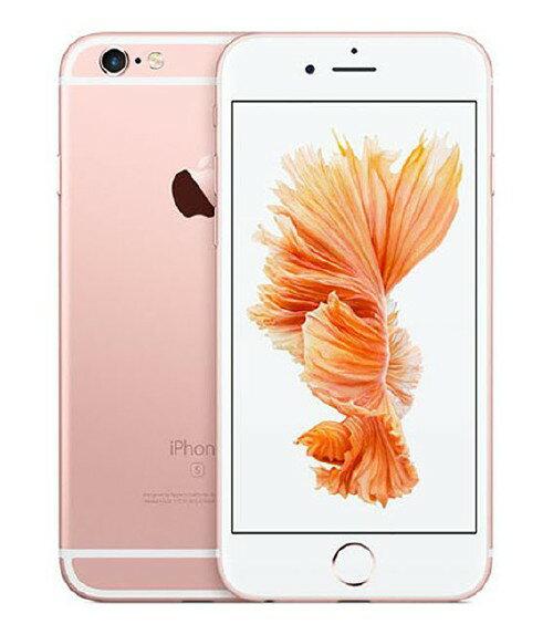 【中古】【安心保証】 au iPhone6s[16G] ローズゴールド