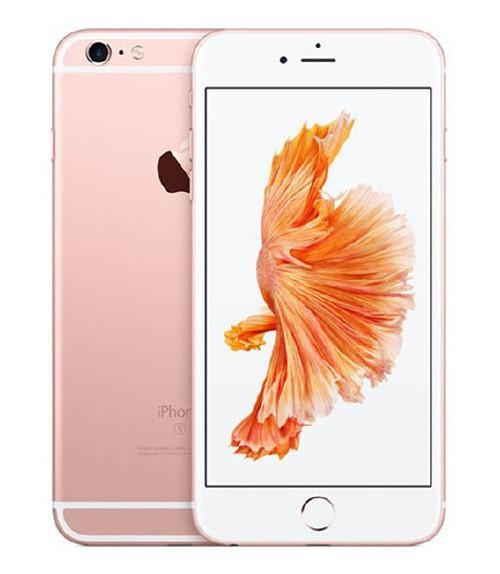 【中古】【安心保証】 au iPhone6sPlus[128G] ローズゴールド