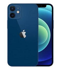 【中古】【安心保証】 SoftBank iPhone12mini[64G] ブルー