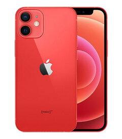 【中古】【安心保証】 SoftBank iPhone12mini[128G] レッド