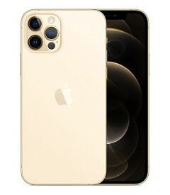 【中古】【安心保証】 SIMフリー iPhone12Pro[128G] ゴールド