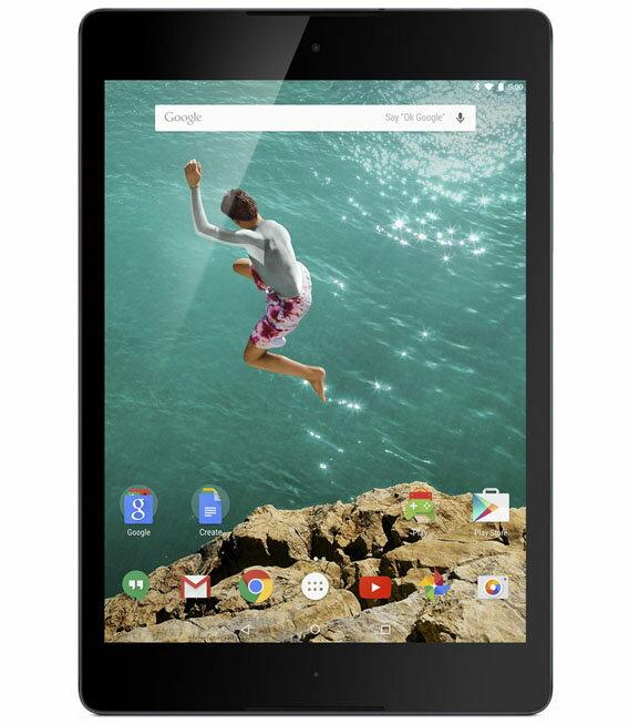 【中古】【安心保証】 SIMフリー Nexus9[SIM32G] ブラック