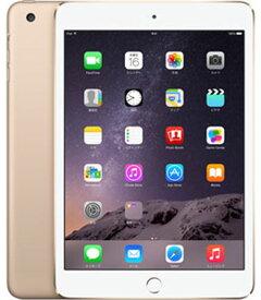 【中古】【安心保証】 iPadmini3 7.9インチ[16GB] セルラー docomo ゴールド