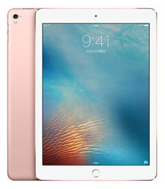 【中古】【安心保証】 iPadPro 1ー9.7[WiFi128G] ローズ