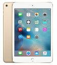 【中古】【安心保証】 SIMフリー iPadmini4[64G] ゴールド
